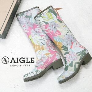 受賞記念【40%OFF】AIGLE(エーグル) MISS JULLIETTE PRINT(1色)【レディース】【長靴】【防水】【レインブーツ】【ZZF8470】