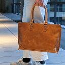 とことん革にこだわる人の トートバッグ フルグレインレザー ビジネス 本革 エイジング メンズ 本革 革 レザー 軽量 …