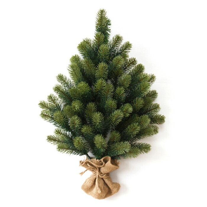 クリスマスツリー 壁掛けタイプ 【おまけのオーナメント付き】【RS GLOBALTRADE/PLASTIFLOR】