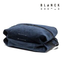 【BLANCK】アウトレット メンズ レディース 兼用 ポーチ トラベル コーデュロイ 訳あり プライスダウン ブランク 20147 made in japan 日本製