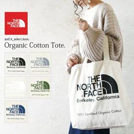 ザ・ノース・フェイス THE NORTH FACE TNFオーガニックコットントート/TNF Organic Cotton Tote【メール便10】レディース バッグ グリーン ブラック ライトブルー ホワイト ジンクグレー 男女兼用 ユニセックス デイリー シンプル 通勤 お買い物 NM81971
