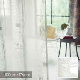【ポイント10倍★割引クーポン配布中】 ディズニー レースカーテン Disney ALICE アリス Teacup / ティーカップ 100×176cm (1枚入り) 【ウォッシャブル/シアーカーテン/テーブルウェア/ホワイト】