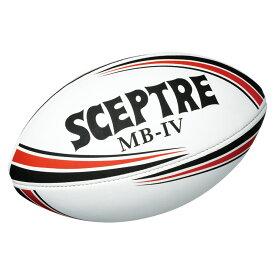 セプター MB4ジュニアラグビーボール4号球 ブラック×レッド SP914 ラグビー ボール 15SS