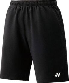 Yonex(ヨネックス) 15048J 007 テニス ジュニアハーフパンツ(スリムフィット) ブラック 16SS
