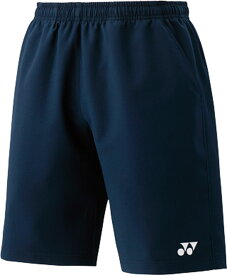 Yonex(ヨネックス) 15048J 019 テニス ジュニアハーフパンツ(スリムフィット) ネイビーブルー 16SS
