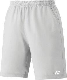 Yonex(ヨネックス) 15048J 326 テニス ジュニアハーフパンツ(スリムフィット) アイスグレー 16SS