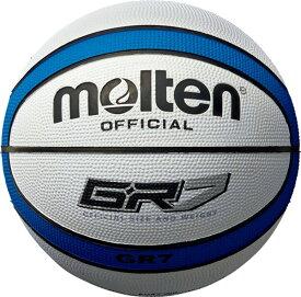 モルテン(Molten) BGR7WB バスケットボール7号球 GR7 ホワイト×ブルー 17SS