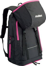 モルテン(Molten) LB0032KP バックパック ミニバスケットボール用 黒×ピンク 17SS
