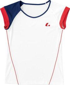 LUCENT(ルーセント) XLH2280 テニス レディース ゲームシャツ(襟なし) ホワイト 18SS