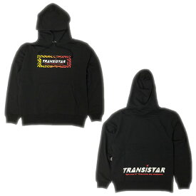 TRANSISTAR(トランジスタ)HB19AT05-BLKハンドボール スウェットパーカーZEBRA BOX LOGO BLK19FW