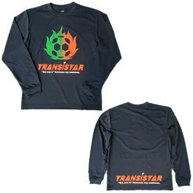 TRANSISTAR(トランジスタ)HB19TS24-NVYハンドボールL/S ゲームシャツ FIREBALL19FW