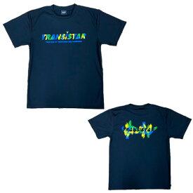 TRANSISTAR(トランジスタ) HB20TS04 BLK ハンドボール Tシャツ PAINT 20SS
