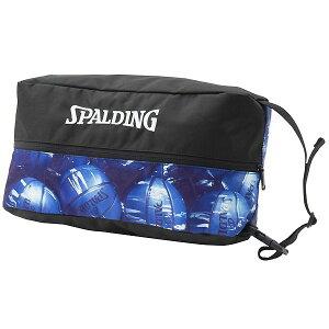 スポルディング(SPALDING) 42-002MBL バスケットボール シューズケース マーブル ブルー 19SS