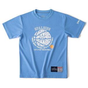 スポルディング(SPALDING) SJT190370 5200 バスケットボール ジュニア Tシャツ フレンドボール 19SS