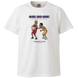 SALE soccer junky(サッカージャンキー) BSK21101 1 バスケットボール Tシャツ One on One! 半袖TEE 20FW