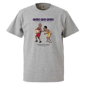 SALE soccer junky(サッカージャンキー) BSK21101 133 バスケットボール Tシャツ One on One! 半袖TEE 20FW