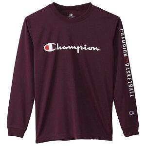 Champion(チャンピオン) CKSB418 970 バスケットボール ジュニア プラクティス ロングスリーブ Tシャツ E-MOTION 20FW