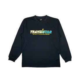 TRANSISTAR(トランジスタ) HB20TS13 BLK ハンドボール ロングスリーブ Tシャツ HB DRY L/Tシャツ STREAM 20FW