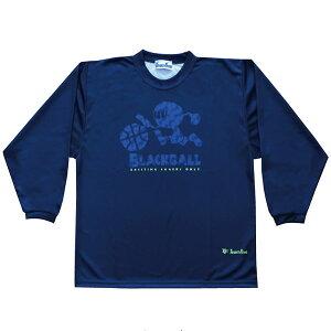 チームファイブ(Team Five) AL8801 NVY 「ブラックボール!」 昇華ロングスリーブ Tシャツ 20FW