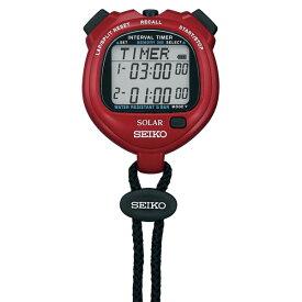 SEIKO(セイコー) SOLER INTERVAL TIMER(パワーレッド) SVAJ103 マルチSP タイマー 13SS