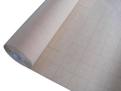 方眼線が鮮明に見える型入用紙「ゴールドカット型入紙(950ミリ幅)100M巻」