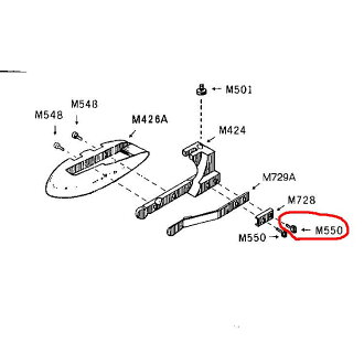 (HC-1005 A / HC-1015 A) Sabrina small cutters for blade screws