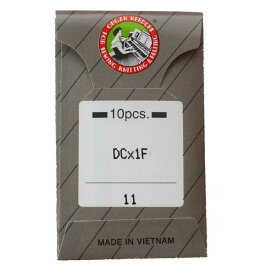 家庭用ロックミシンのミシン針「オルガン針 DC*1F(10本入)」【メール便での発送OK】