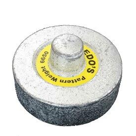 型紙や生地の固定に便利な「丸型ブンチン」
