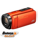 《送料区分1》JVC Everio R GZ-RX680-D [ブラッドオレンジ]『あす楽対応』【ラッキーシール対応】
