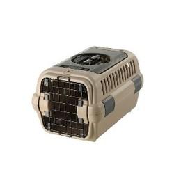 リッチェル キャンピングキャリー ダブルドアS 超小型犬・猫用 ブラウン