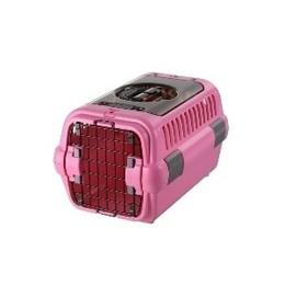 リッチェル キャンピングキャリー ダブルドアS 超小型犬・猫用 ピンク