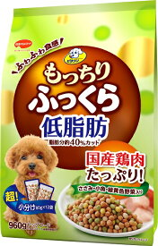 日本ペット ビタワン もっちりふっくら 低脂肪 ささみ・小魚・緑黄色野菜入り 960g