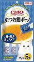 いなば CIAOかつお節ボーノ 3種の魚介だしスープ 5本入り(17gx5本) SC-294