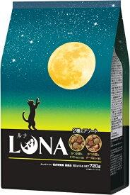 ペットライン LUNA かつお節&チキン味とチーズビッツ添え 720g LN-3