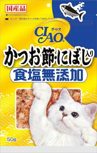 いなば CIAOかつお節 にぼし入り 食塩無添加 50g CS-17