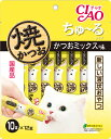 いなば 焼かつおちゅ〜るタイプ かつおミックス味 10本入り(12g×10本) 10R-109