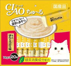 いなば CIAOちゅ〜る まぐろ ほたてミックス味 20本入り(14gx20本) SC-129