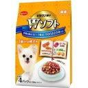日本ペット ビタワン君のWソフト 成犬用 お肉を味わうビーフ味粒・やわらかささみ入り 200g