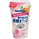 ユニチャーム 猫トイレまくだけ香り広がる消臭ビーズ やさしいピュアフローラルの香り 450ml