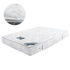 マットレス ポケットコイルマットレス コイル数 660個 厚み 28センチ ダブル ファブリック 低反発 ラテックス ハードパーム 布製 シンプル ホワイト 白色 寝具 ベッド ダブルマット ポケットマット Dマット