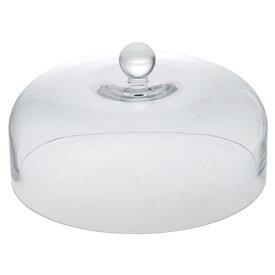ガラスケーキドーム24cm バール アフタヌーンティー/オードブルスタンド/パーティースタンド/ケーキ台/折りたたみ/ガラスドーム
