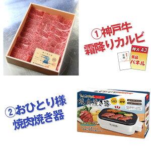 二次会景品神戸牛霜降りカルビ肉おひとり様グリルボディパッド他盛り上がる10点セットパネル目録ビンゴ景品おもしろ