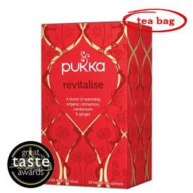 pukka(パッカ) リバイタライズ(カパ) 有機ハーブティー 20TB