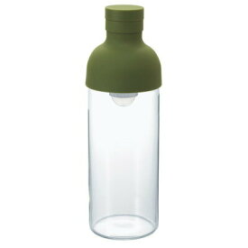 HARIO ハリオ フィルターインボトル オリーブグリーン 300ml FIB-30-OG / 水出し茶 ワインボトル型 アイスティー ボトル