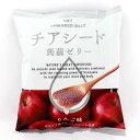 チアシード蒟蒻ゼリー りんご味 (10個入) / オメガ3脂肪酸 必須アミノ酸 食物繊維