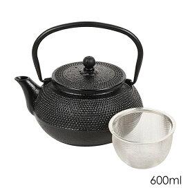 和の味 鉄鋳物製急須 600ml 彩あられ HB-4686 パール金属 日本茶 紅茶 お茶 ティーポット