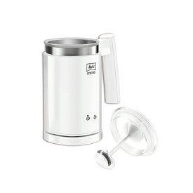 送料無料 メリタ ミルクフォーマー クレミオ2 ホワイト MJ201-W ホット アイス ボタンを押すだけの簡単操作