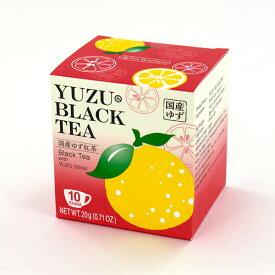 ティーブティック ゆずの香るお茶 ゆず紅茶 10TB ティーバッグ 国産ゆず皮入り和紅茶