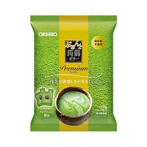 ORIHIRO オリヒロ ぷるんと蒟蒻ゼリープレミアム 抹茶 6個入 保存料不使用 アセプティック製法