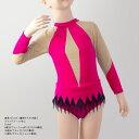 新体操衣装レオタード01(ラインストーンなし) ジュニア・大人サイズ【ラインストーン スワロフスキー 衣装体操 パワー…